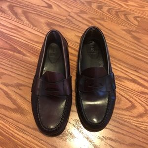 Sperry penny loafers size 3.5w